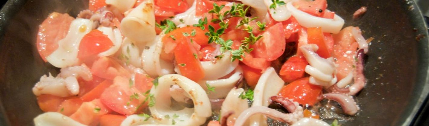 Ricetta calamari o totani alla provenzale