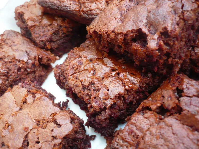 Ricetta brownies light