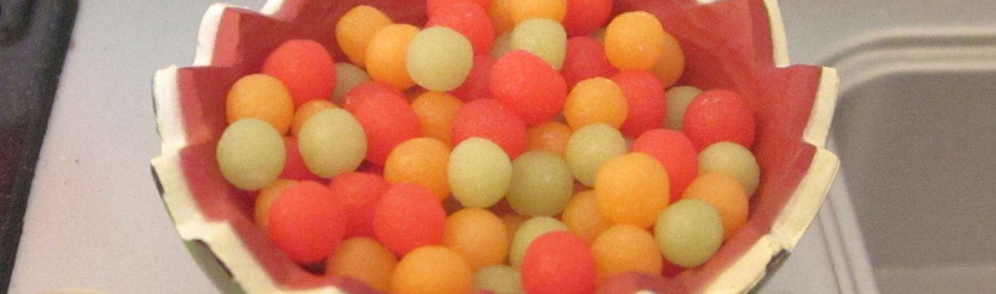Ricetta macedonia di anguria e melone