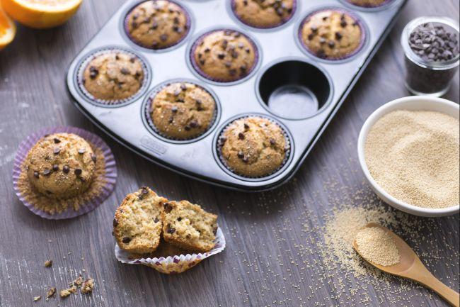 Ricetta muffin all'amaranto