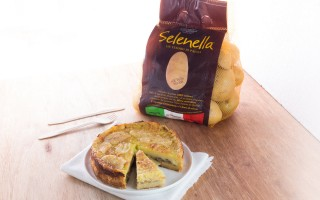 Ricetta tortino con patate, funghi e fontina