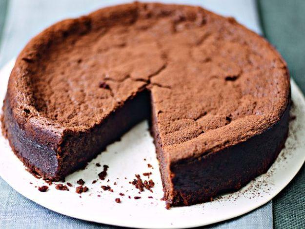 Ricetta torta brownies con castagne e cioccolato fondente