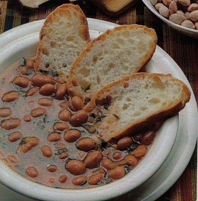 Ricetta zuppa di fagioli e sedano