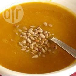 Zuppa di porri patate e zucca