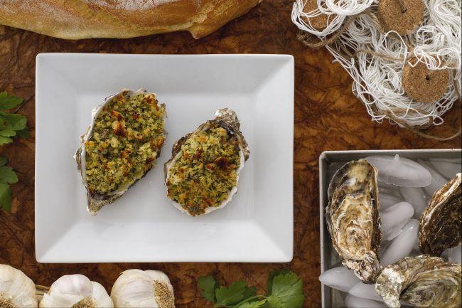 Ricetta ostriche gratinate con acciughe e capperi di pantelleria