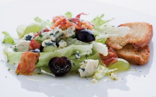 Ricetta insalata di uva e gorgonzola