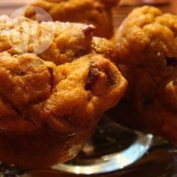Muffin alle mele e zucca senza lattosio