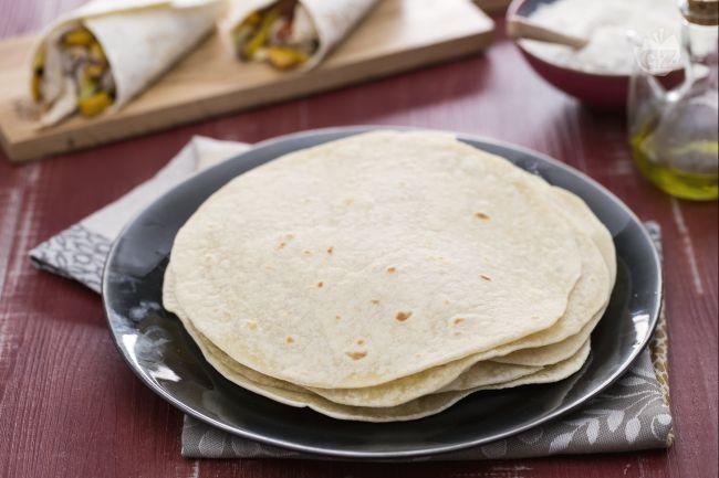 Ricetta tortillas di farina