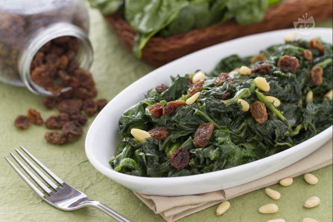 Ricetta spinaci alla romana