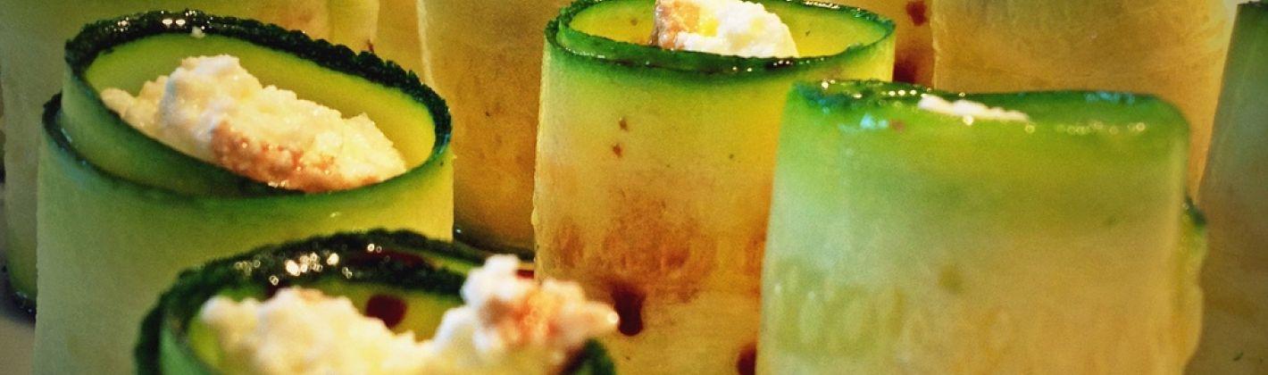 Ricetta involtini di zucchine alla ricotta