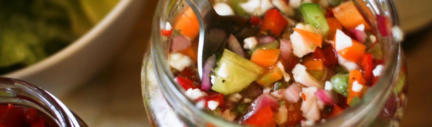 Ricetta giardiniera di verdure sott'aceto