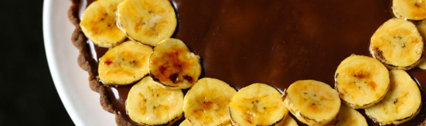 Ricetta torta al cacao con banane