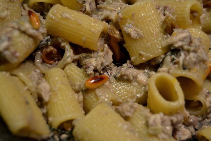 Maccheroni con le sarde alla siciliana