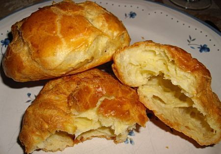 Ricetta bignè di formaggio (gougeres)
