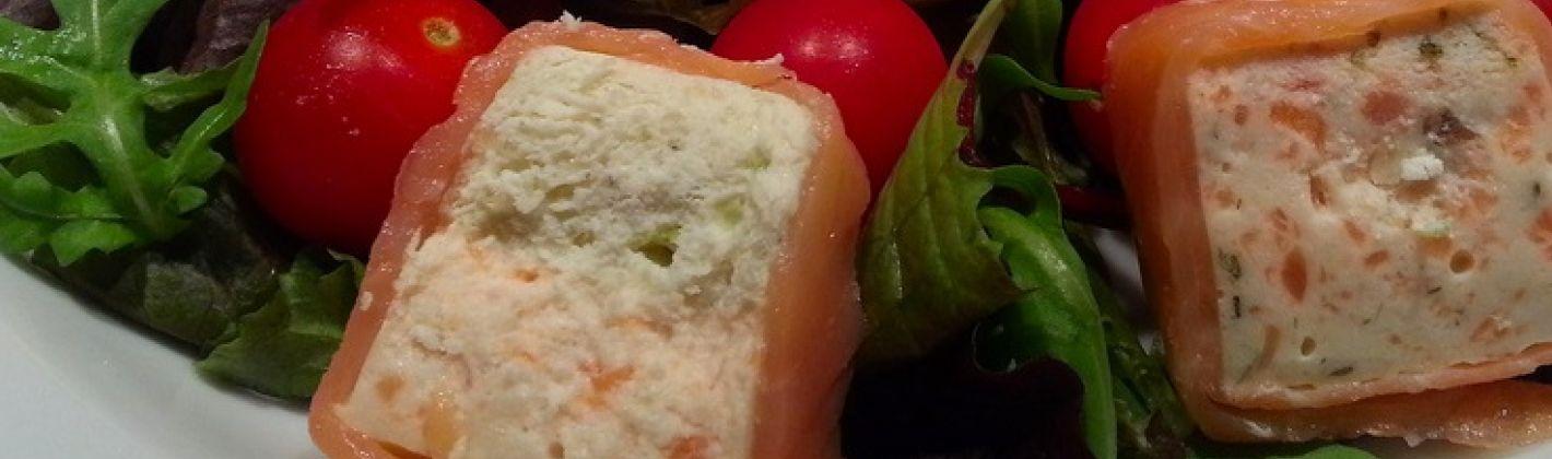 Ricetta mousse di salmone