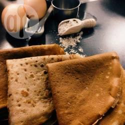 Crepes di farina di castagne