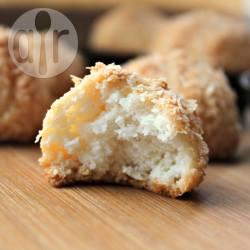 Dolcetti al cocco senza glutine e senza lattosio
