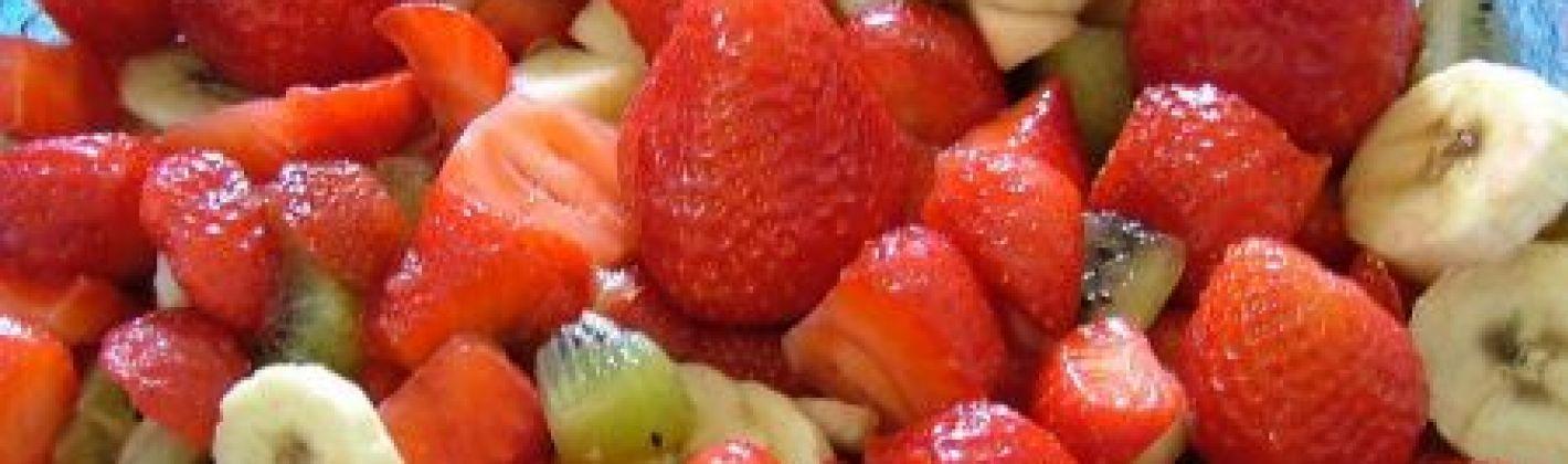 Ricetta macedonia di frutta di stagione