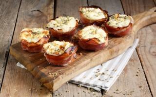 Ricetta cestini di prosciutto e formaggio