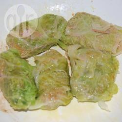 Fagottini di verza e salsiccia