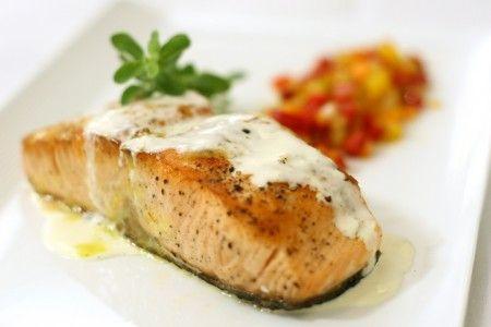 Ricetta scaloppine di salmone con crema
