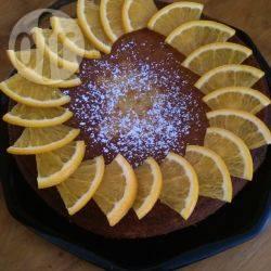 Torta all'arancia e mandorle senza glutine