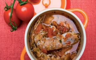Ricetta zuppa di canocchie