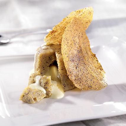Polenta di grano saraceno con fondente di formaggio
