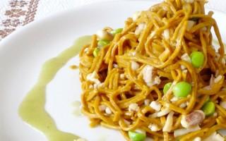 Ricetta tagliolini al curry dolce con ragù di calamaro e piselli freschi ...