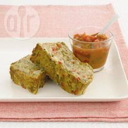 Polpettone di lenticchie e verdure