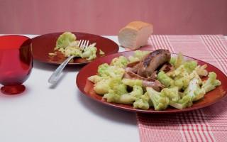 Ricetta salsicce con broccoli
