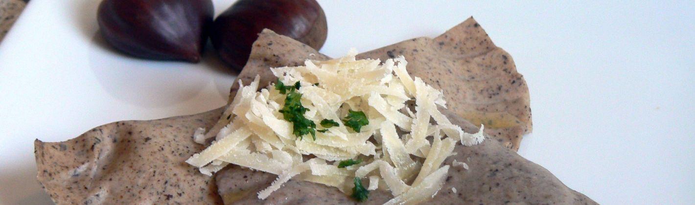 Ricetta ravioli in salsa di porri