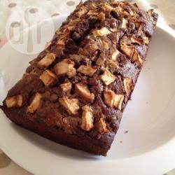 Plumcake alle mele e cioccolato