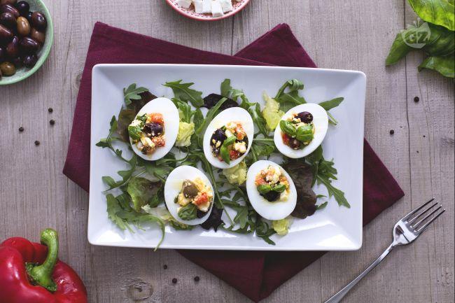 Ricetta uova alla greca