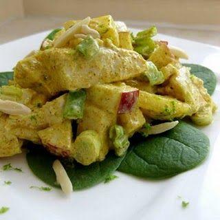 Ricetta insalata di pollo al curry