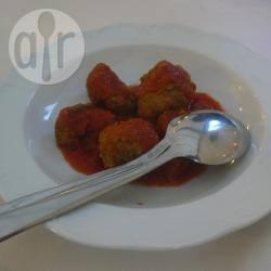 Polpettine di prosciutto cotto e pancetta