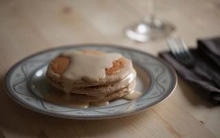 Ricetta pancake integrali con zabaione all'aceto balsamico ...