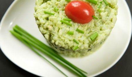 Ricetta soufflé di riso al pesto