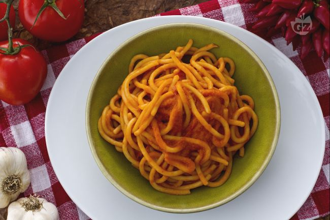Ricetta pici all'aglione