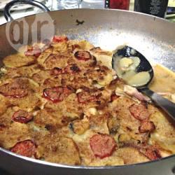 Teglia di patate e seppie