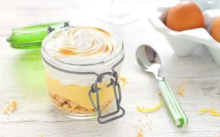 Ricetta crostata meringata al latte condensato e limone in barattolo ...