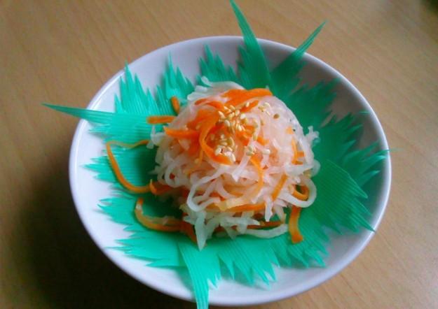 Ricetta carote con rafano