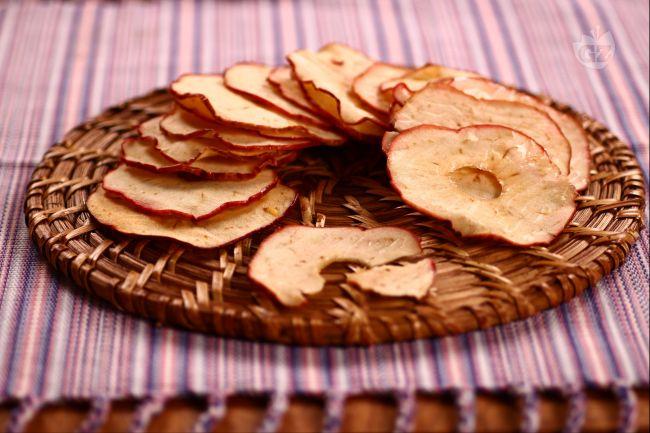 Ricetta chips di mele
