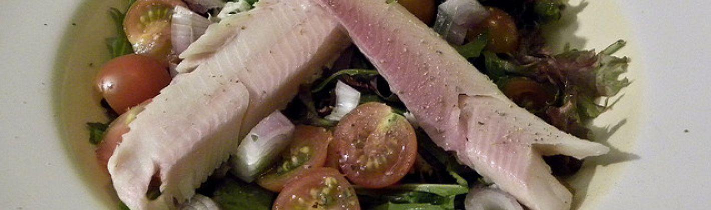 Ricetta insalata di trota salmonata