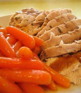 Ricetta tacchino alle carote con marsala