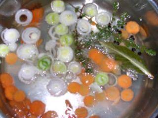Ricetta court bouillon