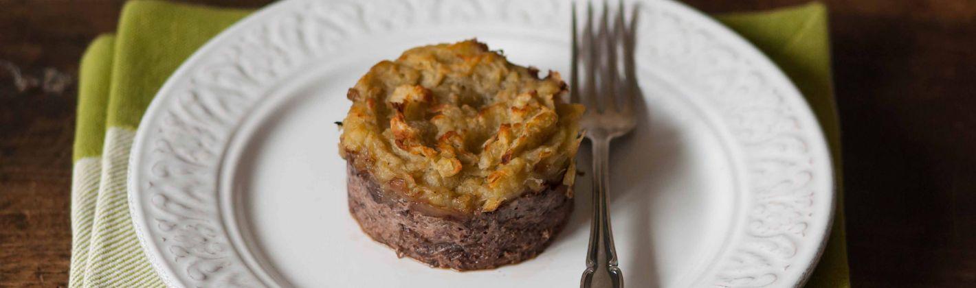 Ricetta tortino di patate e radicchio