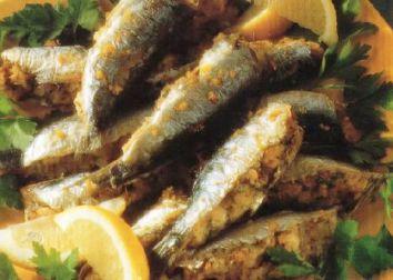 Sardine ripiene al forno