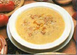 Zuppa di farro e patate della maremma