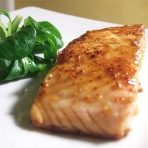 Ricetta salmone alle spezie dolci